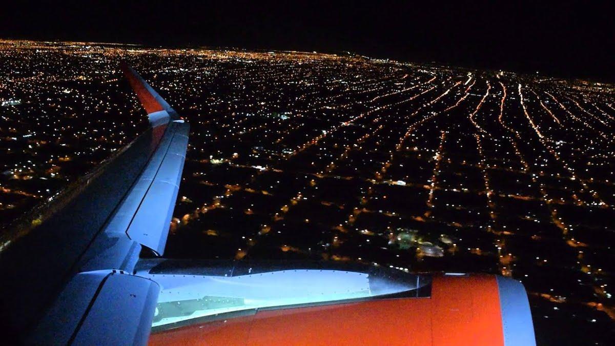 aeropeurto noche