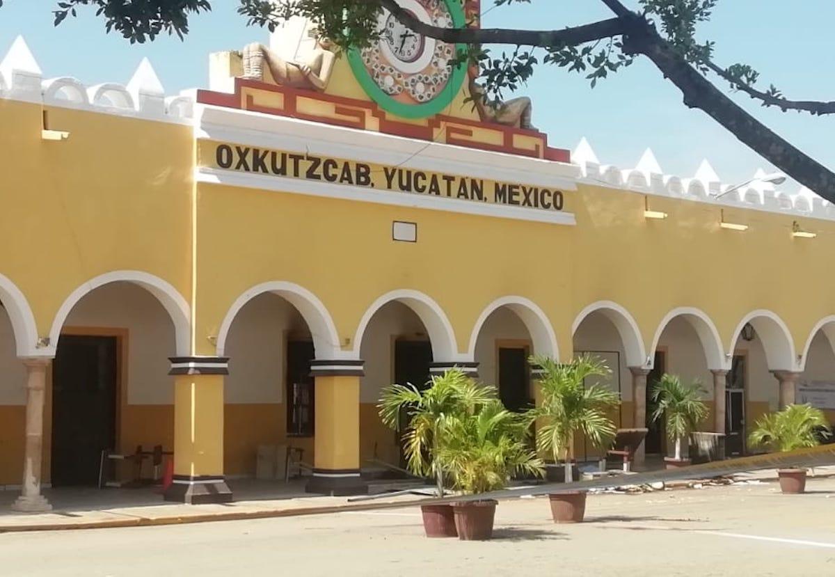 palacio Oxkutzcab