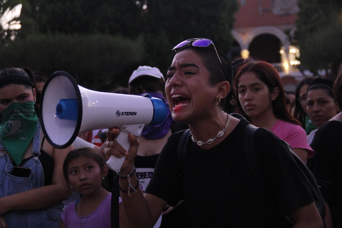 violencia mujeres marcha