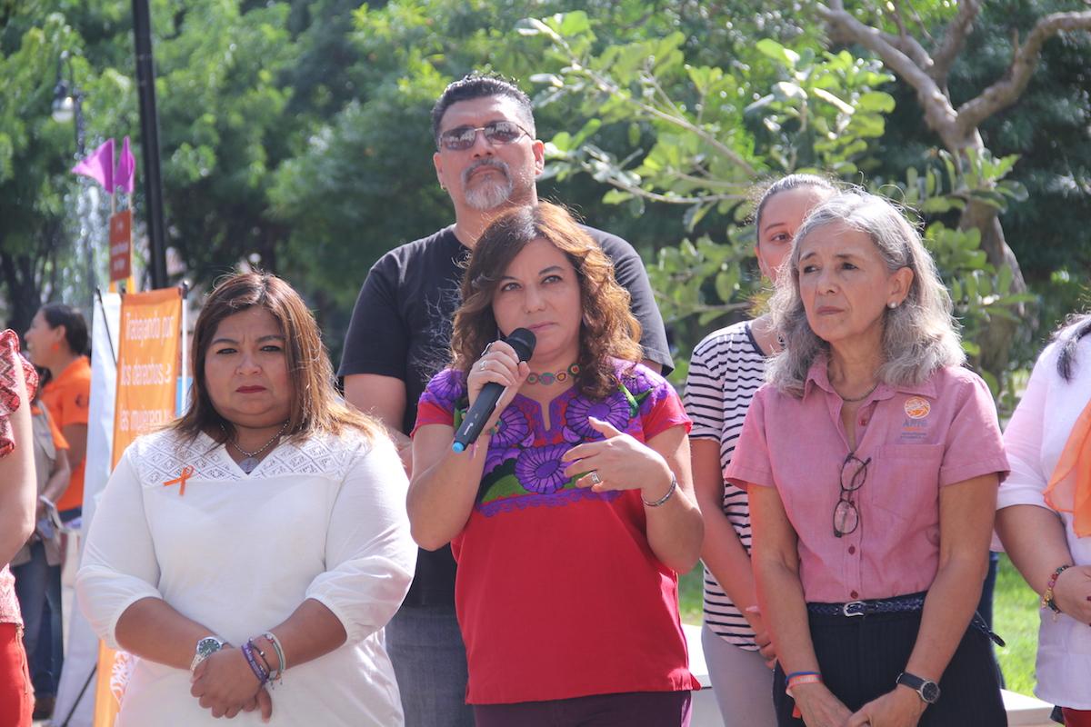 Fabiola García, endy Figueroa y Leticia Murua