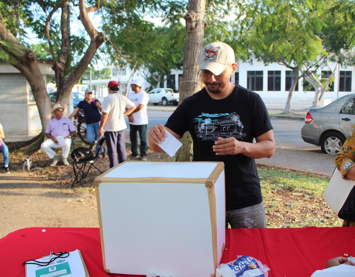 votacion tren maya