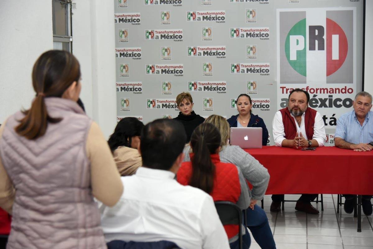 PRI reuniones