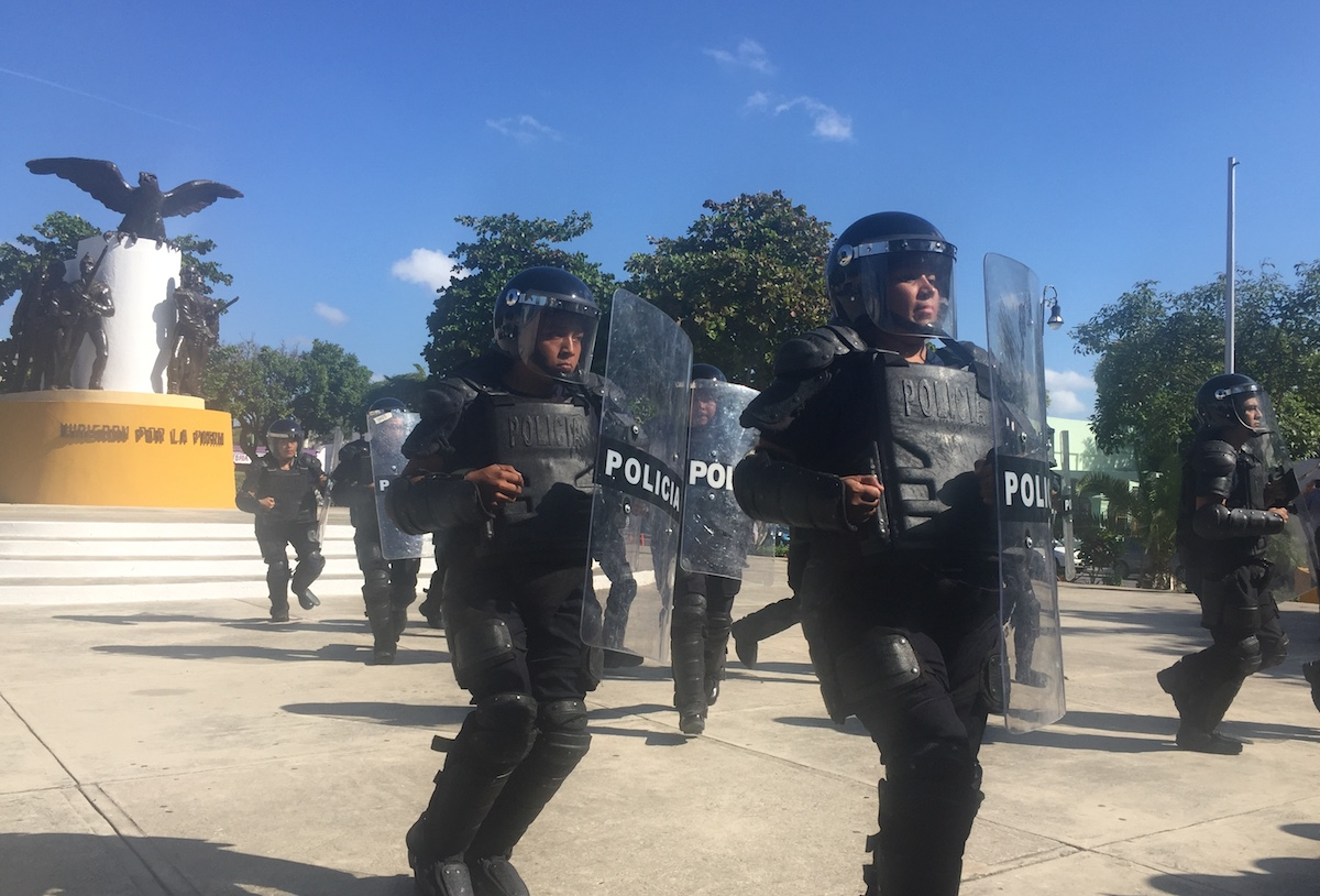 policía merida