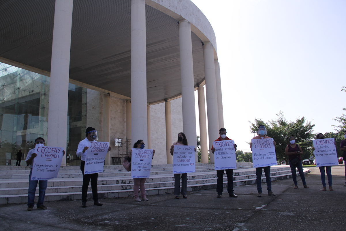 protesta poder judicial
