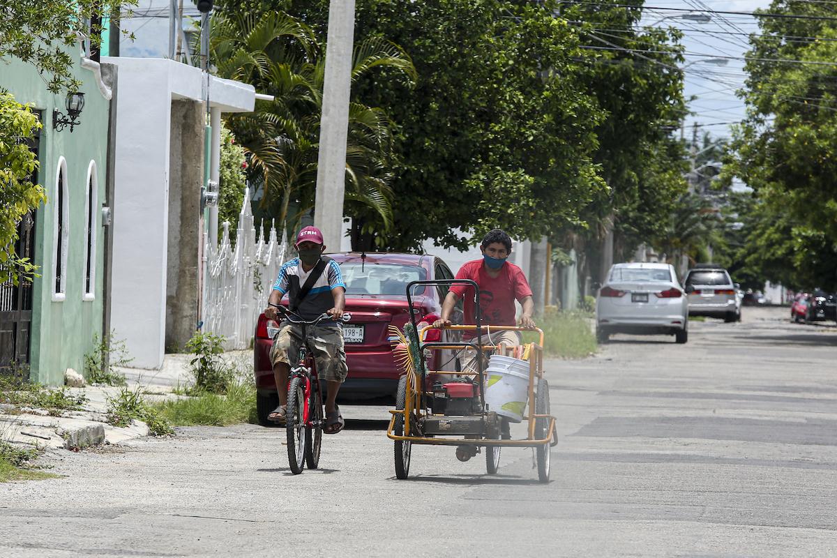 triciclo covid