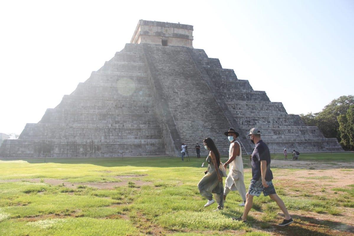 chichén itza turistas 2020