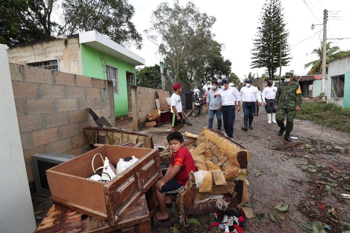 vila evacuacion