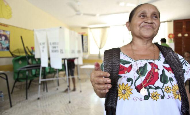 votaciones mujeres