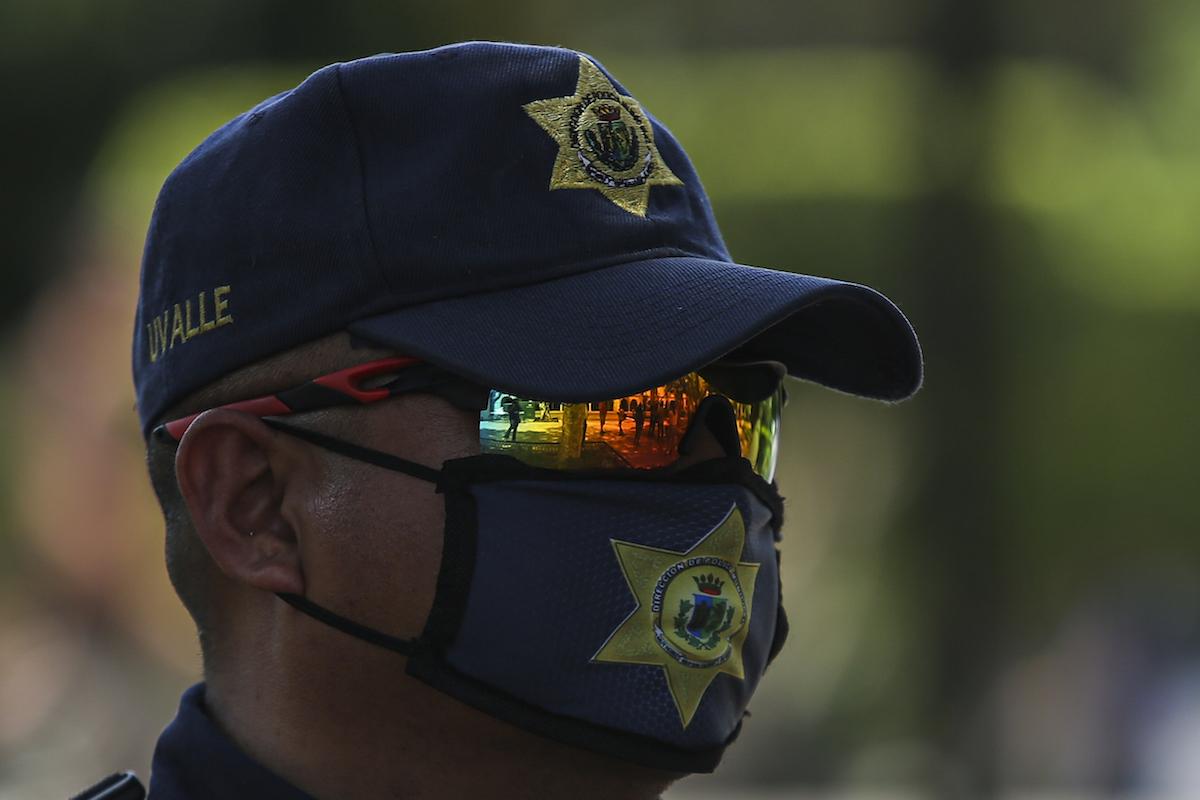 policia municipal covid