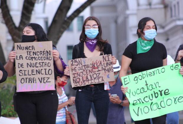 muejres protesta