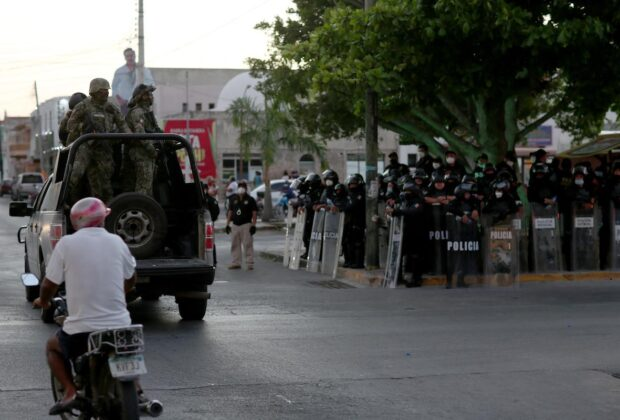 PROGRESO PROTESTAS POLICIA