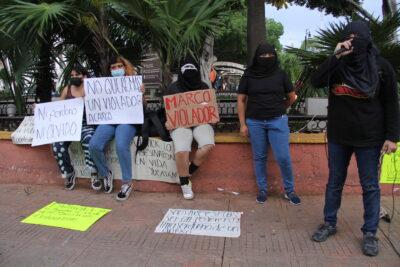 PROTESTA DOMINGO MRCOS