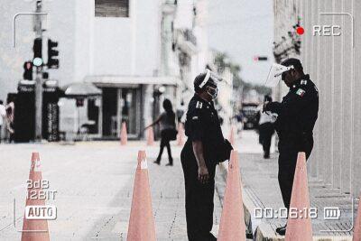 policias video
