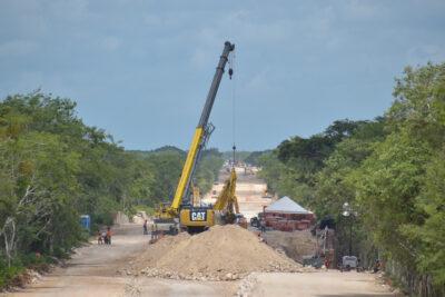 tren maya construcción